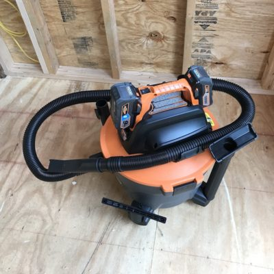 Ridgid Cordless Wet/Dry Vac Review – Vacs Without Borders