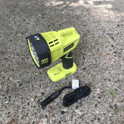 Ryobi P717 Hybrid LED Spotlight Review – A Light That Goes The Distance