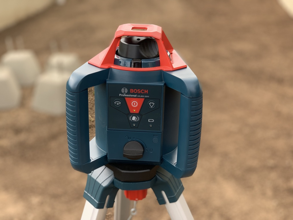 Bosch Grl800 20hv Rotary Laser Review Home Fixated