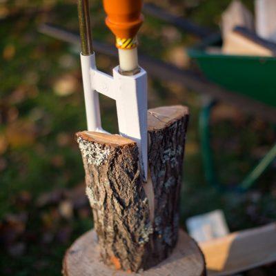 Logosol Smart Splitter Review – Splitting Logs Without Swinging an Axe