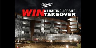 Dark, Gloomy Jobsite? Let The Milwaukee Jobsite Lighting Takeover Brighten It Up – For Free!