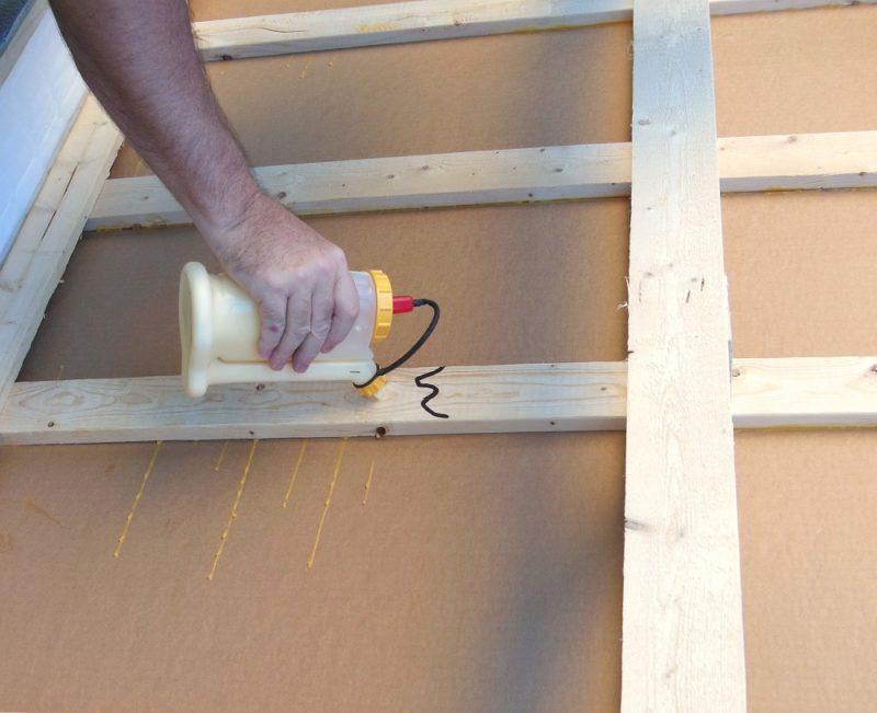 How to reinforce a broken slat.