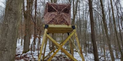 How to Build a Deer Stand Out in the Woods – Starring a Milwaukee Fuel Cordless Combo Kit