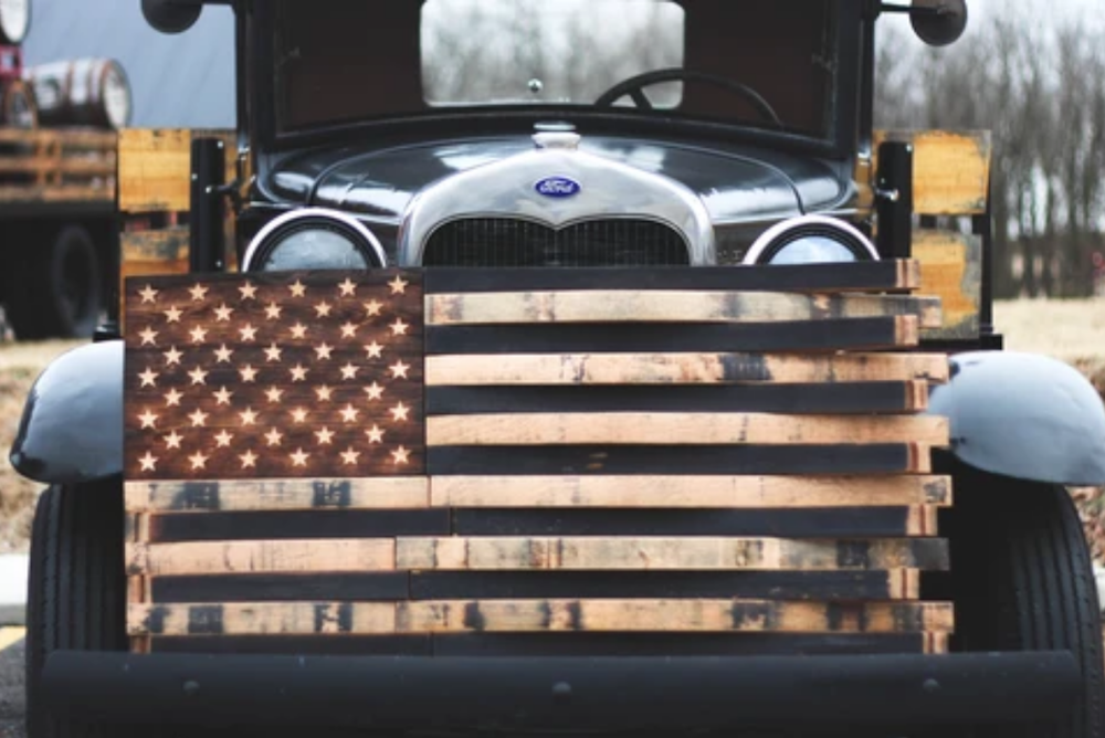 bourbon barrel flags