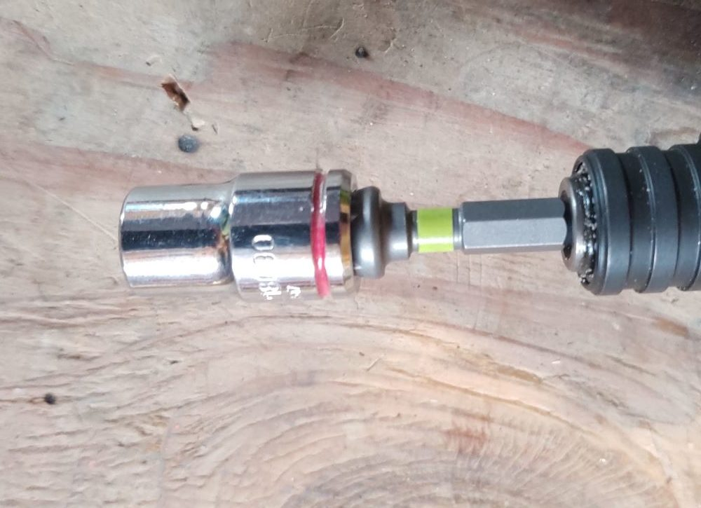 ryobi impact bit set adapters