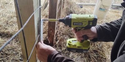 "On the ""Lamb"" With the Ryobi One+ 18v Impact Driver Kit"
