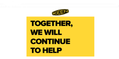 KEEN Footwear Steps Up Big With 100,000 Pairs Of FREE Shoes For COVID-19 Relief