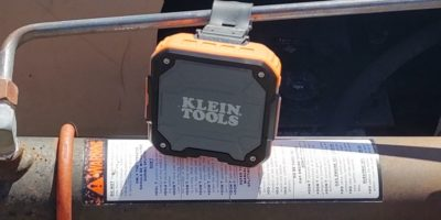 Abounding Sound from The Klein Bluetooth Speaker w/Magnetic Strap
