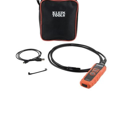 Klein ET20 Wi-Fi Borescope Inspection Camera – Peek A Boo; I See In You!