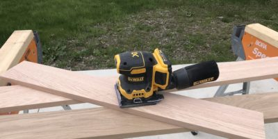 DeWalt DCW200 Sander Makes Finish Sanding A Mobile Sport