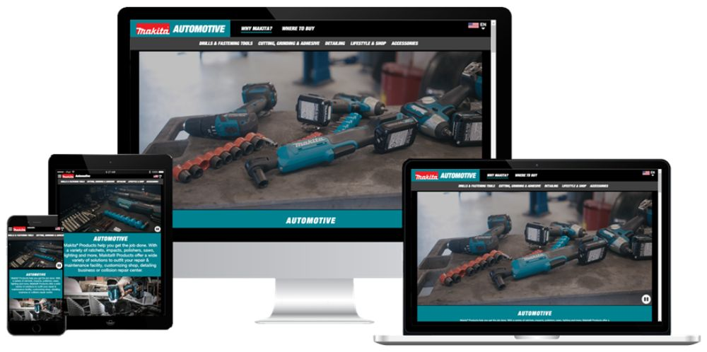 Makita Automotive Website