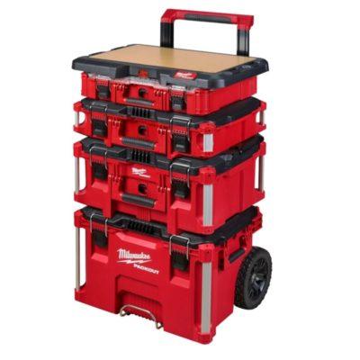 Unpacking the Milwaukee Packout 2 Wheel Cart and Customizable Worktop
