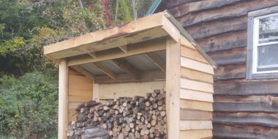 """How to Build a Rustic Woodshed – Cordlessly, With the Milwaukee M18 Fuel 12"""" Miter Saw"""