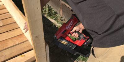 Milwaukee M18 FUEL Framing Nailer Offers 21° Of Separation – From Your Air Hose