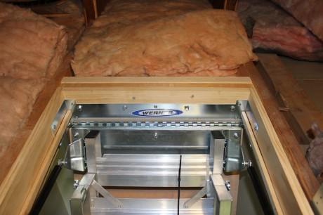install attic ladder