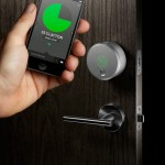 The August Smart Lock does its PacMan imitation