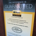 Clopay- the only residential garage door brand to carry the Good Housekeeping Seal