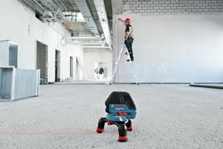Laser tag for contractors