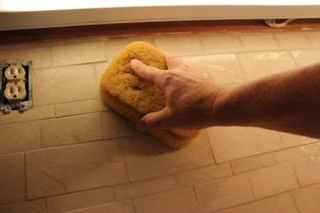 install a tile backsplash