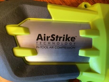 ryobi cordless airstrike