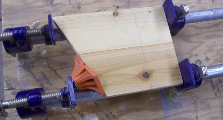 As a clamp aid it replaces the need for wooden caul and adds some grip to keep everything in place.