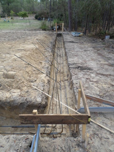 Concrete Batter Board Layout Tips And How To Make A Footer