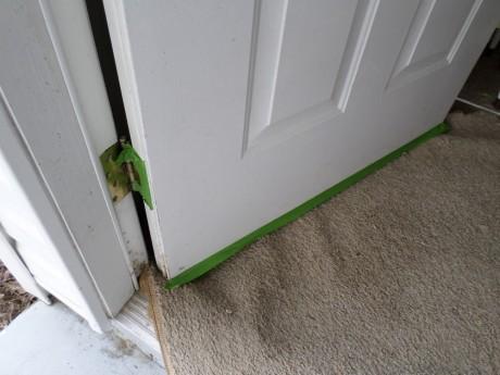 Painting Front Door Jamb